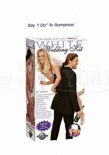 White Wedding Kit - White
