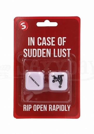 In Case Of Sudden Lust Sex Dice