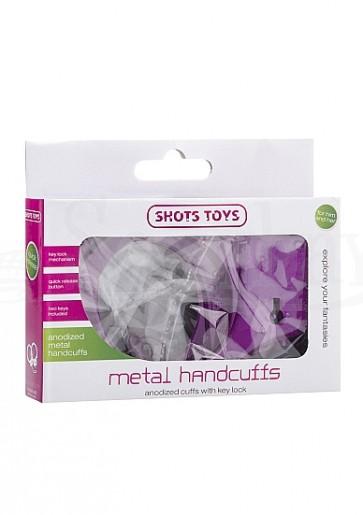 Metal Handcuffs - Purple