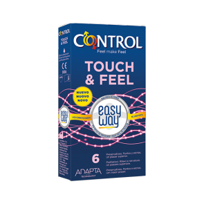 Control Touch & Feel Easy Way (6 pz)