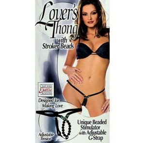 Lovers Thong Black
