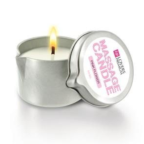 Lovers Premium - Massage Candle Pink Flower