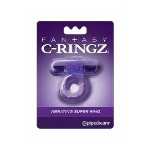 Vibrating Super Ring - Purple