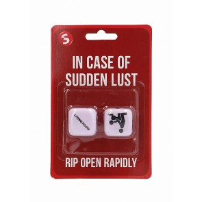 In Case Of Sudden Lust Sex Dice