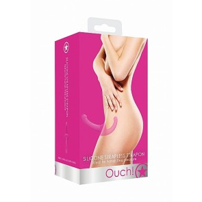 Silicone Strapless Strapon - Pink